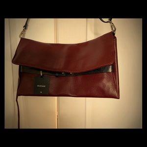 Beautiful 100% Leather Bag Bordeaux Colour